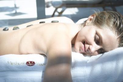 Vietoj pietų deserto - masažas