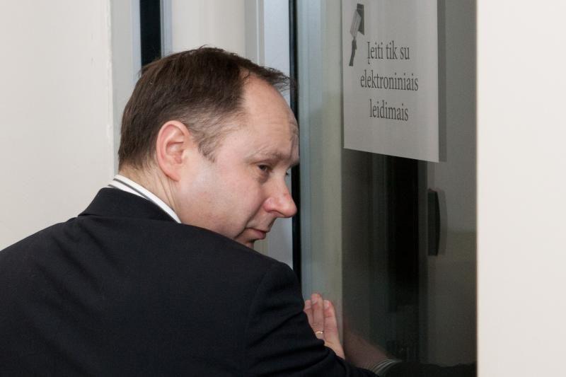 Seimo narys V. Gailius apskundė VSD direktoriaus pavaduotoją