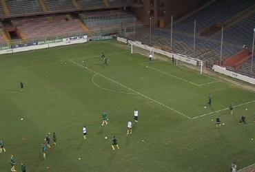 """Genujoje """"Kauno"""" komandą pasitiko kieta aikštė"""