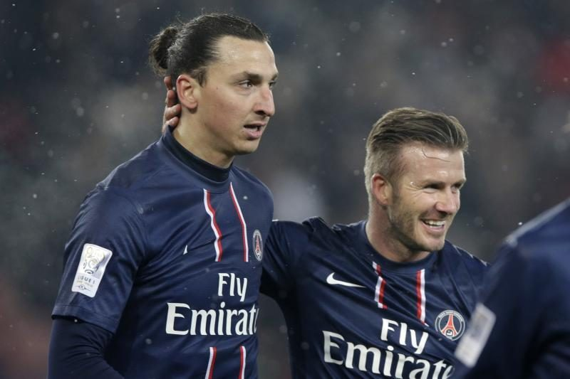 D.Beckhamo debiutas pažymėtas PSG pergale (rezultatai)