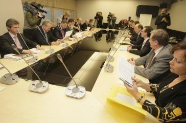 Tęsiamos diskusijos dėl antikrizinio plano