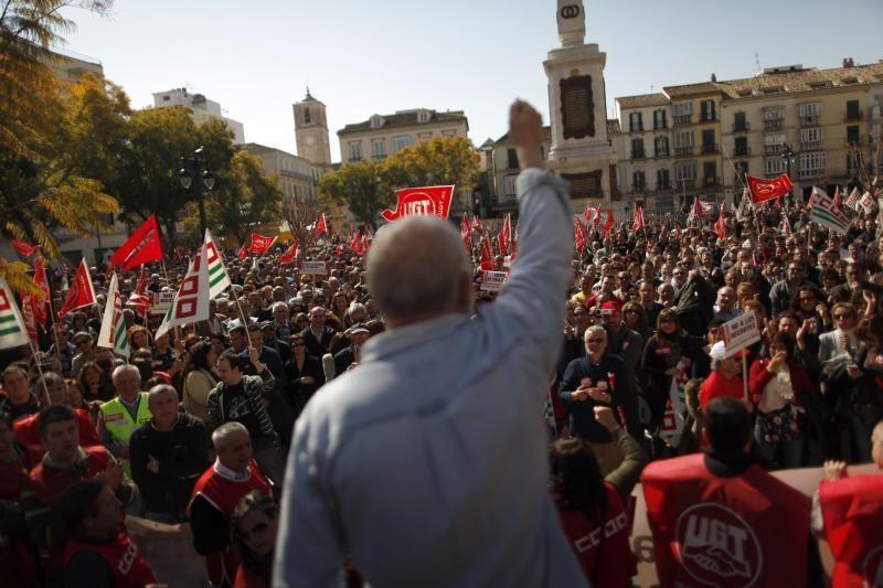 Ispanai išėjo į gatves protestuoti prieš darbo teisės reformas
