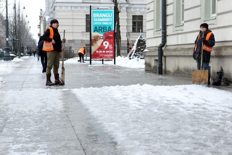 Vilniaus kelininkai tikina pasiruošę žiemai