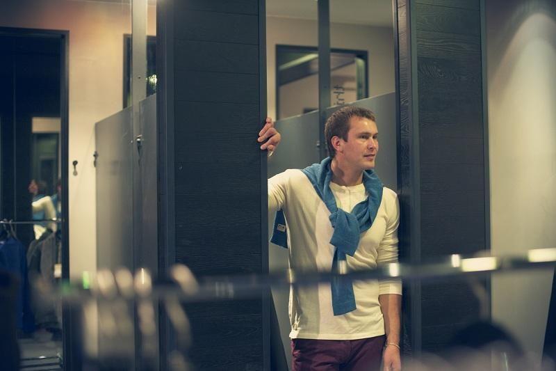 J. Šuklinas – ne tik sportininkas, bet ir modelis (foto)
