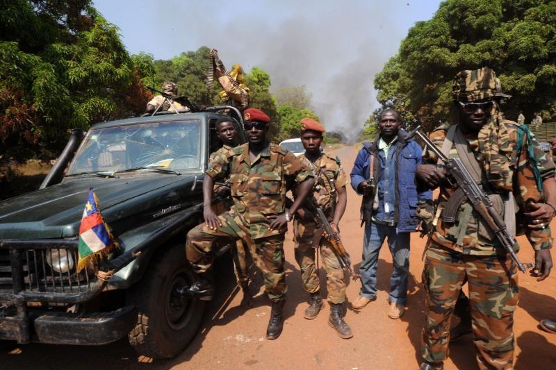 Centrinės Afrikos sukilėliai užėmė prezidento rūmus