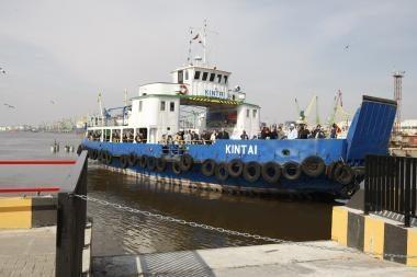 Keltai švartuosis Kruizinių laivų terminale