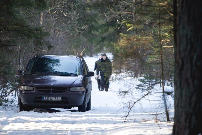 Kleboniškio miške rastas dingusio studento A. Barausko kūnas