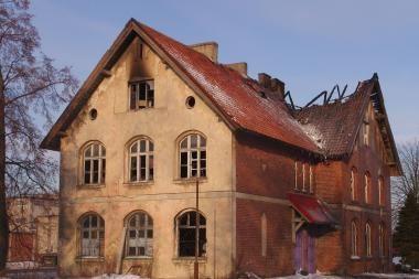 Klaipėdoje toliau deginami istoriniai pastatai