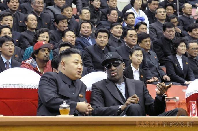 Invazija tęsiasi: D. Rodmanas planuoja atostogas Š. Korėjoje