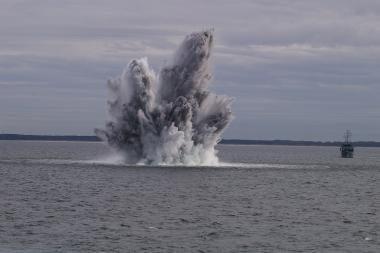"""Planuojama išminavimo Baltijos jūroje operacija """"Atvira dvasia 2010"""""""