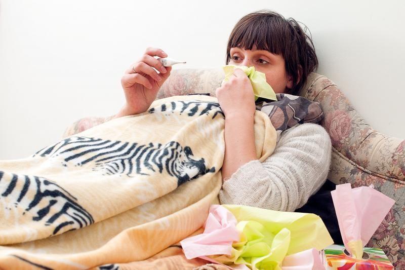 Susirgusiems gripu medikai dvi dienas siūlo neiti pas gydytojus