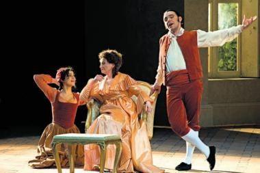 """""""Figaro vedybos"""": opera pakerėjo publiką"""