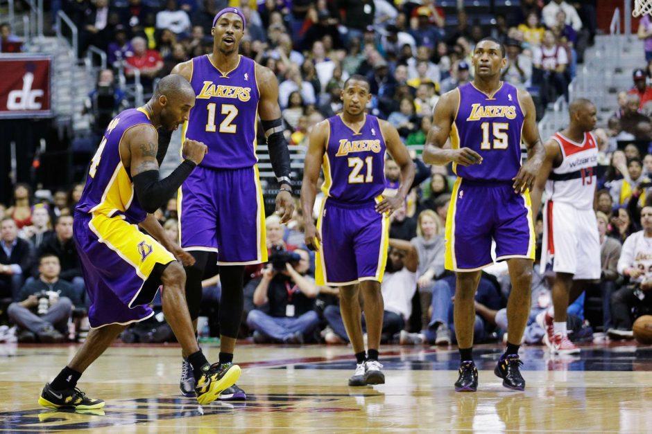"""Ar K. Bryantas kaltas dėl  """"Lakers"""" nesėkmių? (specialistų komentarai)"""