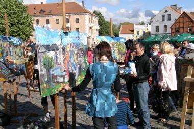 Parengta Klaipėdos senamiesčio vasaros renginių programa