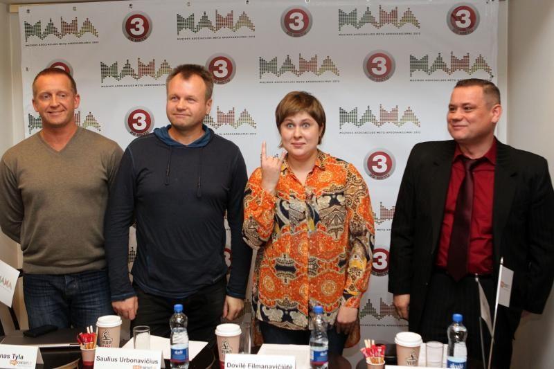 """Samas: """"M.A.M.A. 2012"""" bus šou be banalių šnekų"""