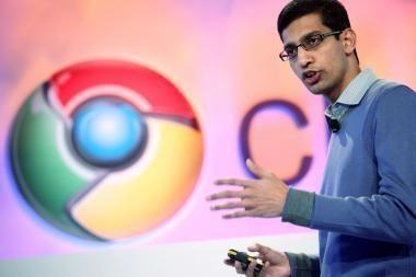 """""""Google"""" kompiuterius su operacine sistema """"Chrome"""" išleis kitąmet"""