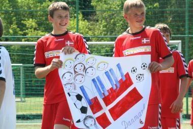 Pasaulio futbolo čempionatas Kaune prasidėjo diena anksčiau