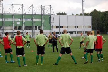 Lietuvos jaunimo futbolo rinktinė mėgins pradžiuginti žiūrovus