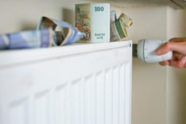 Pirmosios sąskaitos už šildymą - šokiruojančios