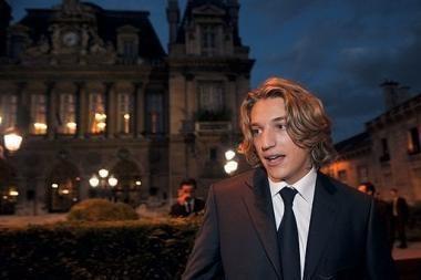 Susituokė jauniausias N.Sarkozy sūnus