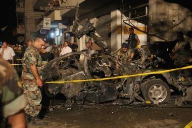 Libane automobilyje susprogdintas politikas