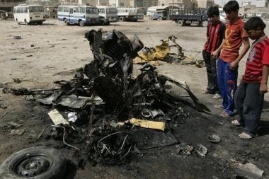 Irake liepą žuvo 989 žmonės – daugiausiai per penkerius metus