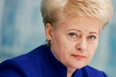 D.Grybauskaitė: FNTT turi būti reorganizuota arba prijungta prie Finansų ministerijos