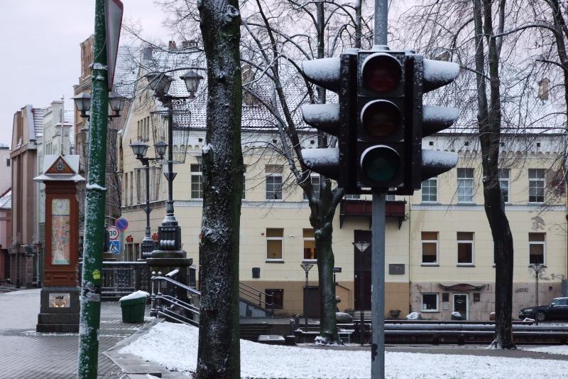 Klaipėdos centre vis dažniau genda šviesoforai