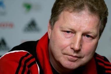 Latvijos futbolo rinktinės treneris: pasiekėme europinį lygį