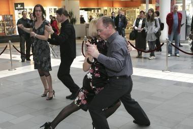 """""""Mega"""" tapo argentinietiško tango oaze"""