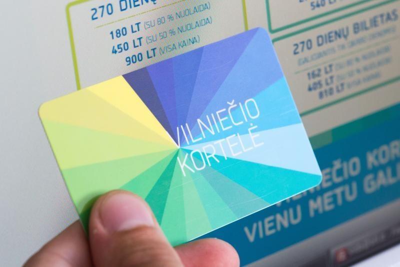 Vilniuje atpigs terminuoti viešojo transporto bilietai