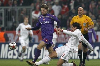"""""""Fiorentina"""" pareiškė pretenzijų teisėjams"""