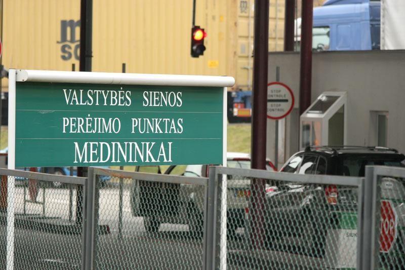 Medininkų punkte susižaloti bandė į Lietuvą neįleistas gruzinas