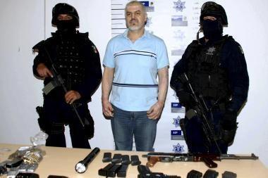 Įtakingas narkobaronas įkliuvo į teisėsaugos rankas