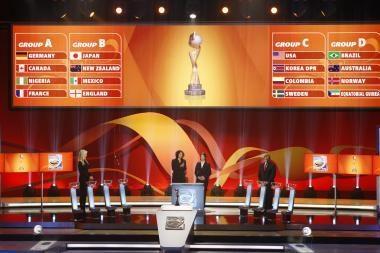 Ištraukti 2011 metų pasaulio moterų futbolo čempionato burtai