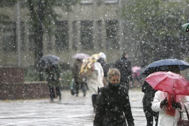 Orai Kaune: pirmadienį atšals iki 11 laipsnių šalčio