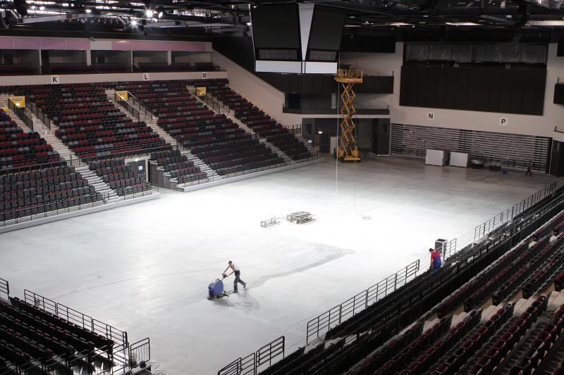 Klaipėdos arenoje laukiama lankytojų antplūdžio