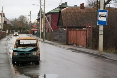 Vilniečiai kviečiami utilizuoti neeksploatuojamus automobilius