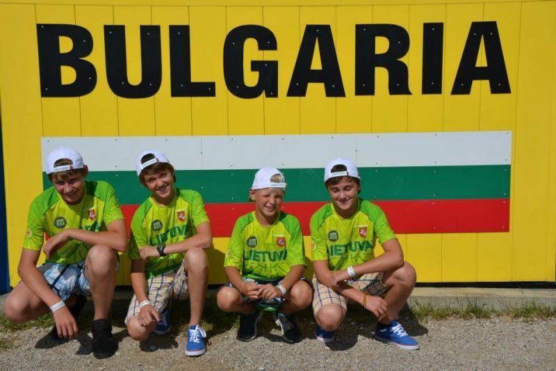 Lietuvos motokroso Jaunimo rinktinė Pasaulio čempionato dešimtuke