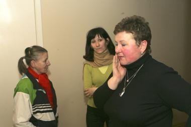 Moterys perkeliamos į Vyrų nakvynės namus