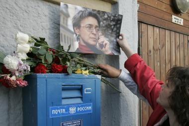 Versija: A.Politkovskajos nužudymą užsakė politikas
