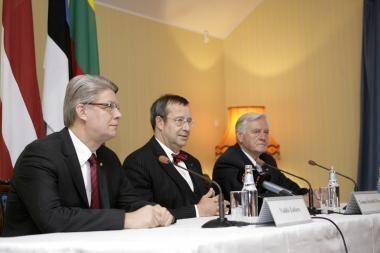 Taline susitiko Baltijos šalių prezidentai