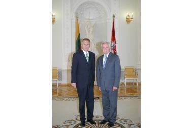 V.Ušackas siūlomas į užsienio reikalų ministrus
