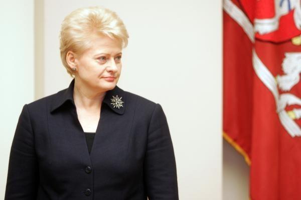 Prezidentė prieš galimybę išsaugoti Lietuvos pilietybę ES ir NATO šalių piliečiams