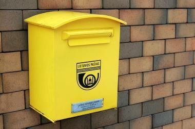 Pašto ir pasiuntinių rinka trečiąjį ketvirtį smuko penktadaliu