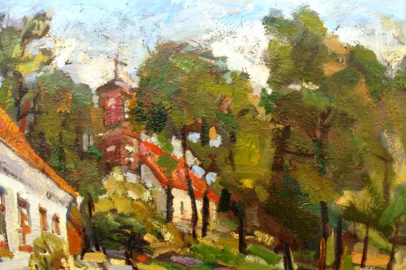 Klaipėdiečių tapybos plenero Tolminkiemyje paroda iškeliavo į Suomiją