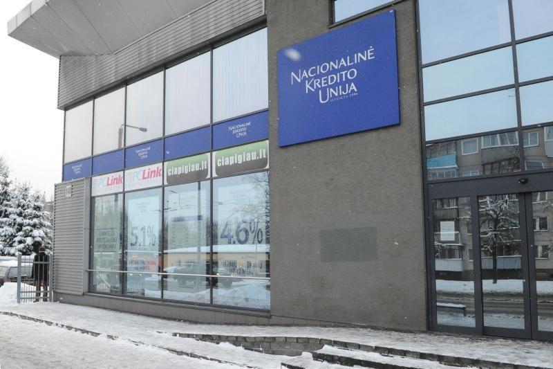 Kredito unijos biuras Vilniuje atsitvėrė tylos siena