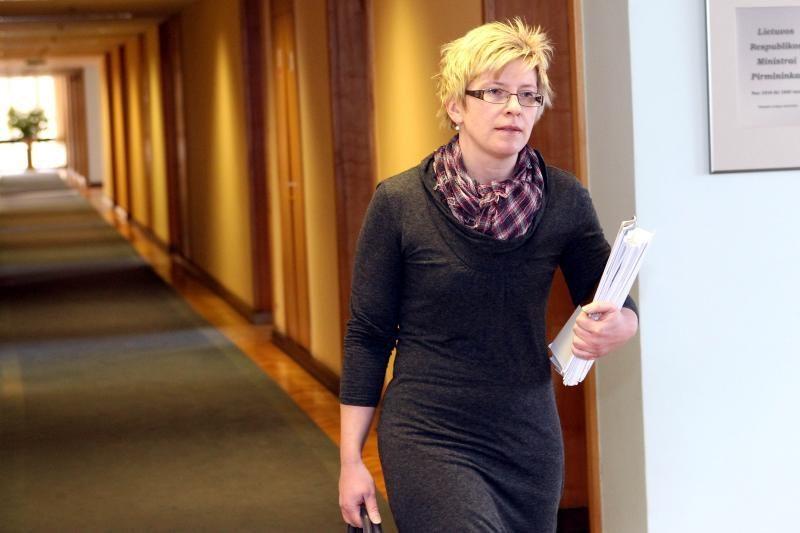I. Šimonytė galimybės dirbti Lietuvos banke nekomentuoja