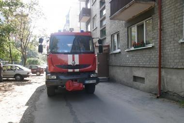 Vilniuje pradedama naujos gaisrinės statyba