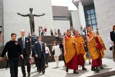 Kuri miesto vieta bus pavadinta Dalai Lamos vardu?